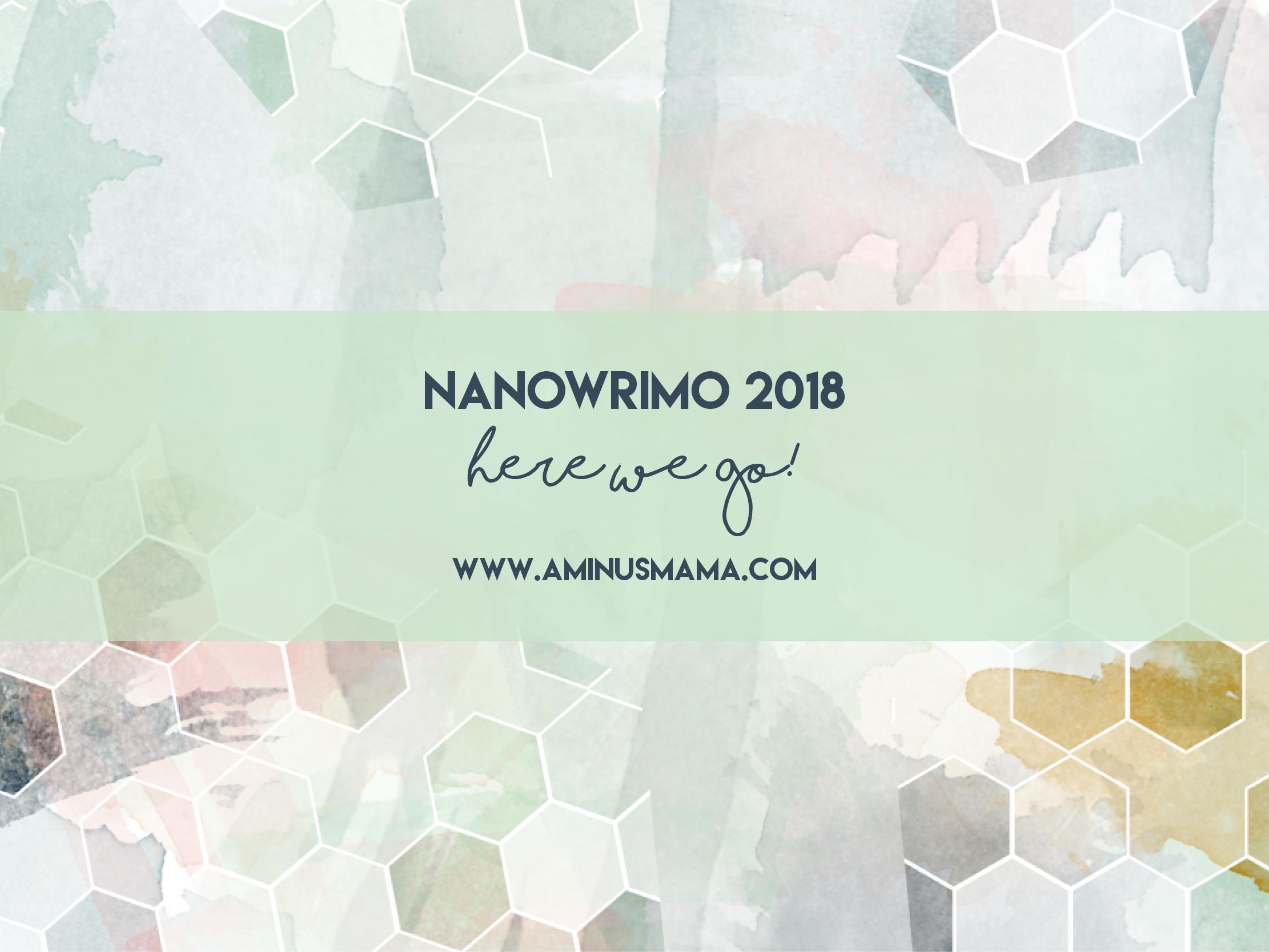NaNoWriMo Kickoff 2018